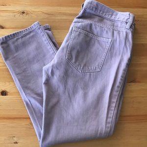 Ann Taylor LOFT Purple Boyfriend Jeans
